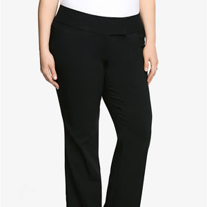 Torrid Black Relaxed Trouser Pant sz 20S